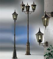 Уличное освещение и садово-парковое освещение
